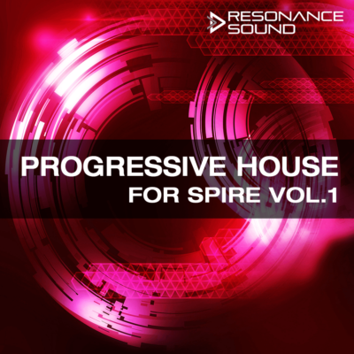 Progressive House for Spire presets