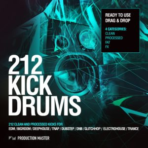 Production Master - 212 Kick Drums