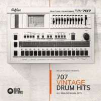 TR-707 Samples - Vintage Drum Hits