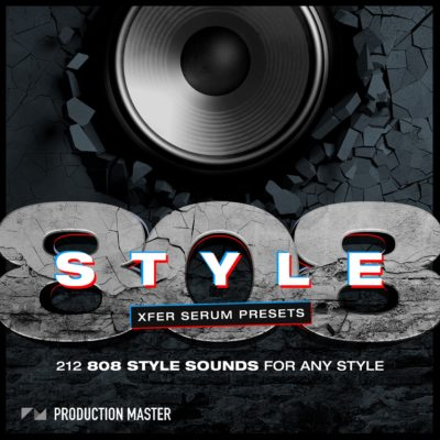 808 Style presets for xfer serum