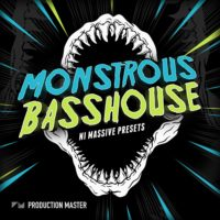 Monstrous Bass House presets for NI Massive