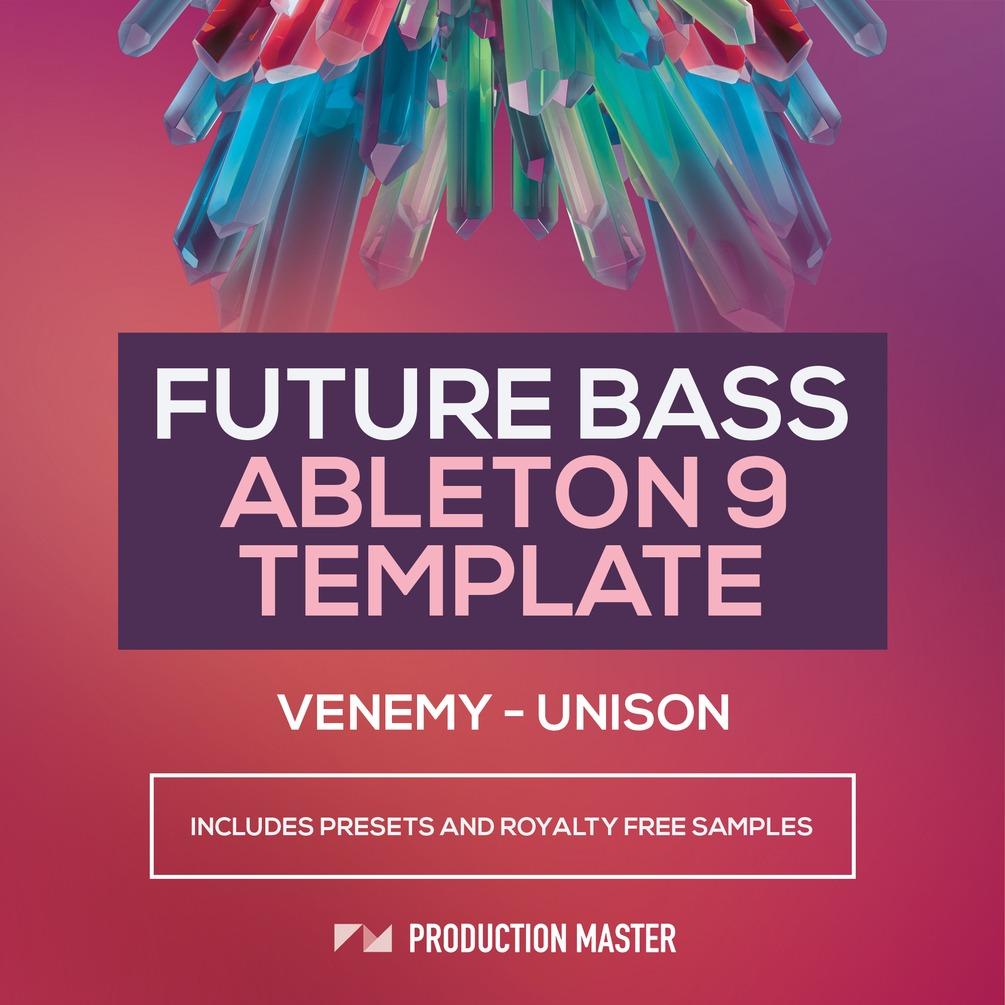 Venemy Unison Future Bass Ableton Live Template Black Octopus