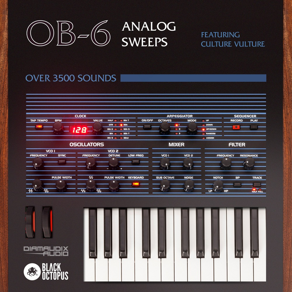 OB-6 Analog Sweeps feat Culture Vulture