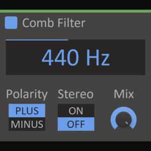 Kilohearts Comb Filter