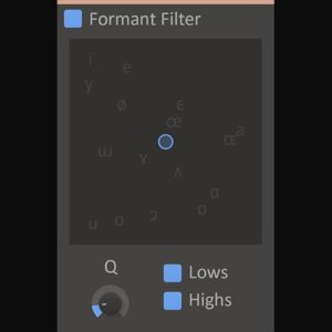 Kilohearts Formant Filter