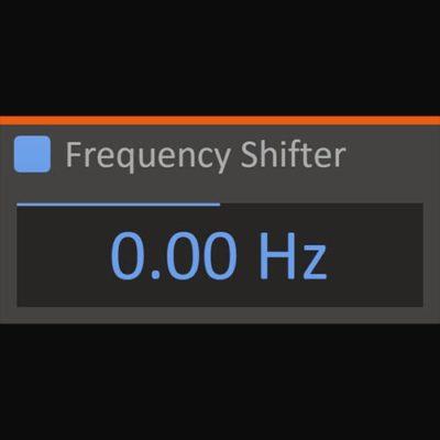 Kilohearts Frequency Shifter