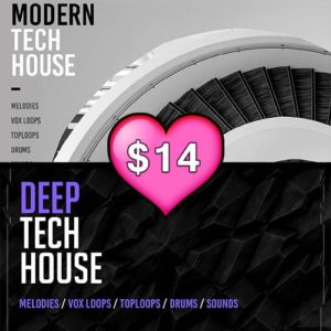Valentines Bundle Deep Tech House Modern Tech House